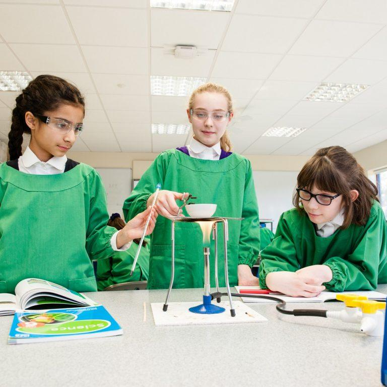 science experiments using bunsen burners