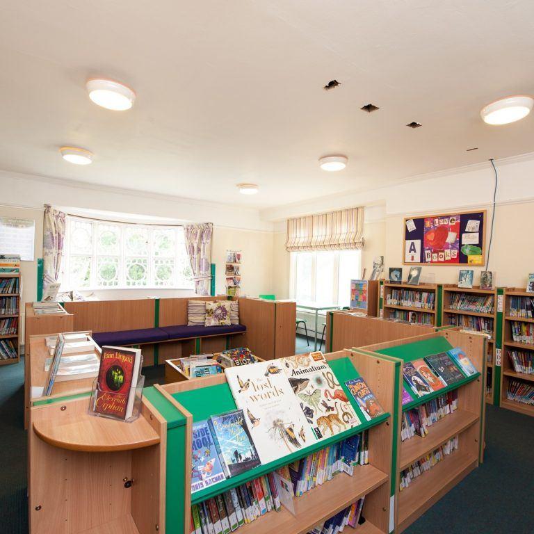 small school library