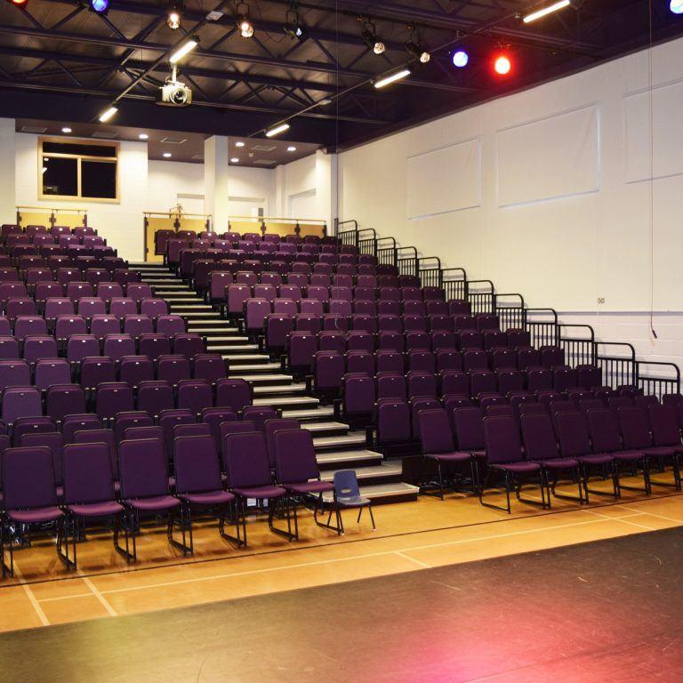 school performance hall