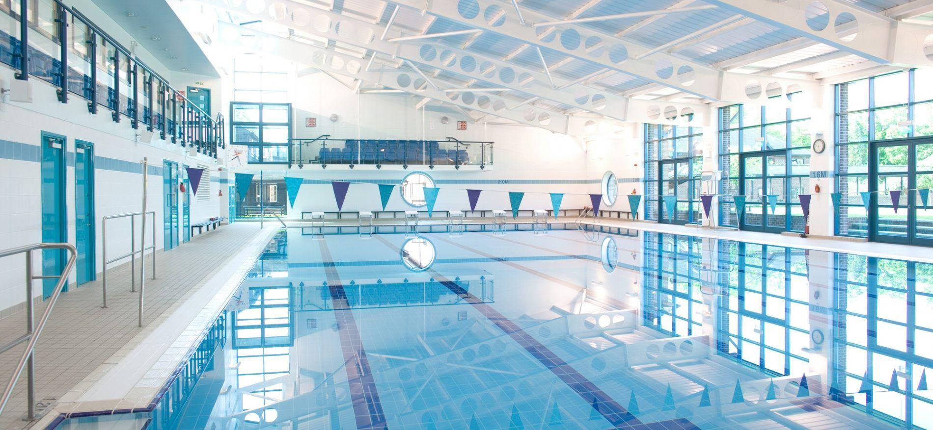 school swimming pool