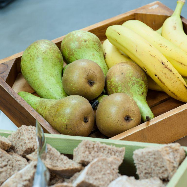 pears and bananas