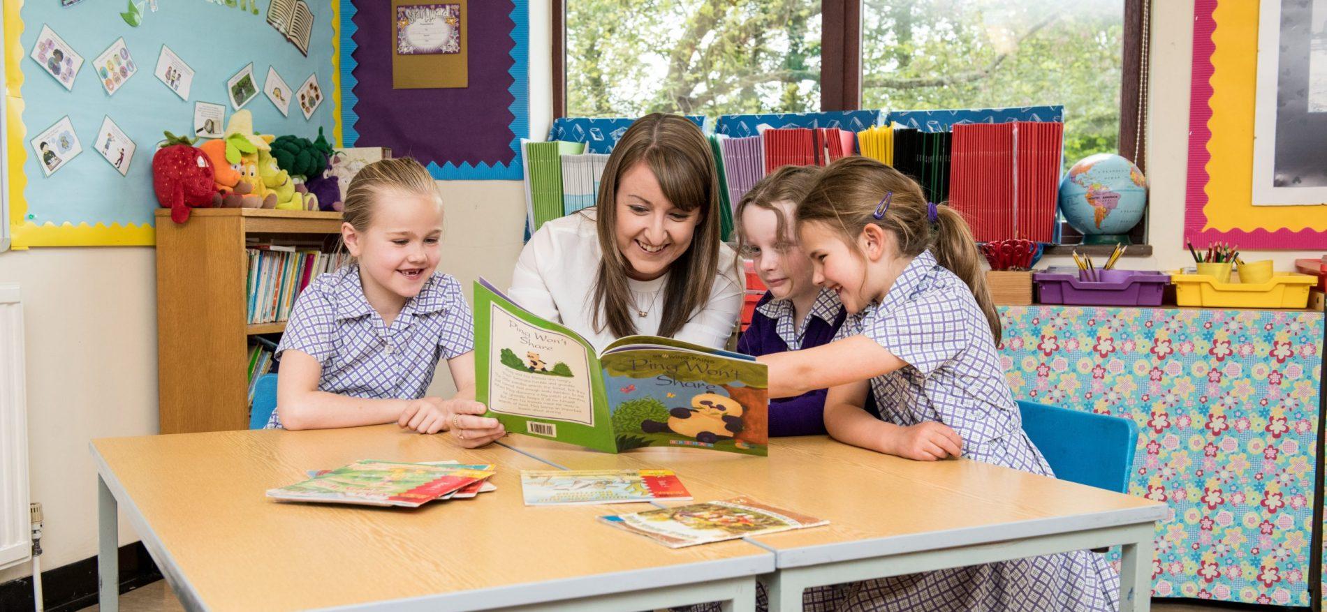Pre-Prep School reading a story