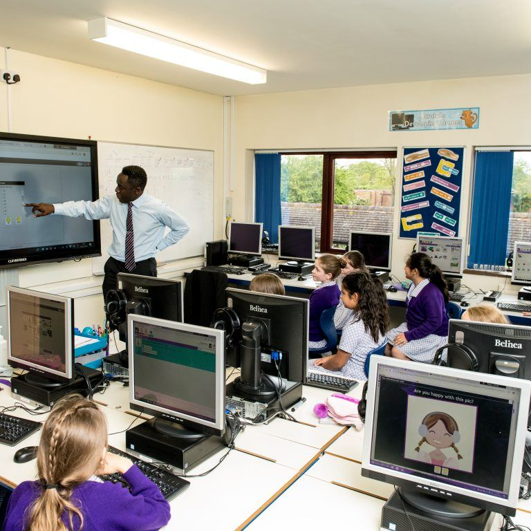 school ICT lesson