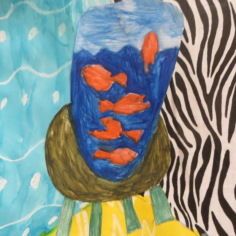 Y3 Goldfish bowls based on Henri Matisse