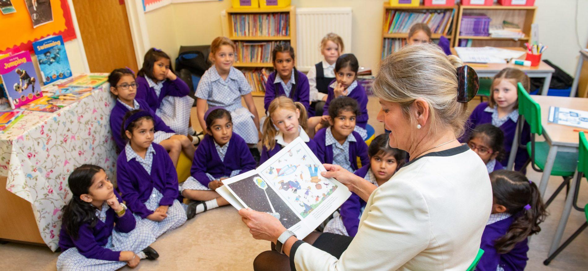 EYFS Class storytime